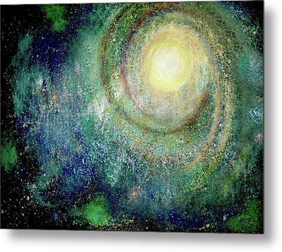 Cosmic Breath Metal Print by NARI - Mother Earth Spirit