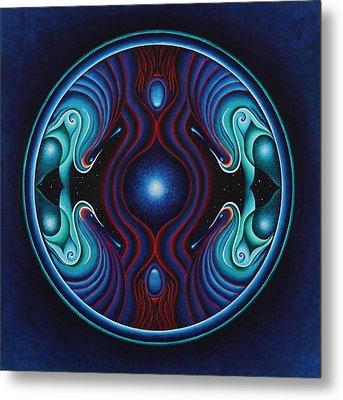 Cosmic Conception Metal Print by Erik Grind