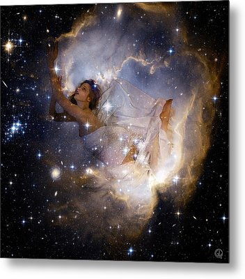 Cosmic Dream Metal Print by Gun Legler