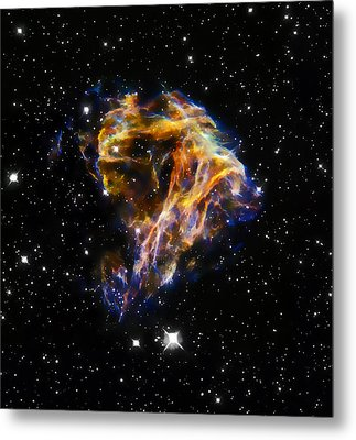 Cosmic Heart Metal Print by Jennifer Rondinelli Reilly - Fine Art Photography