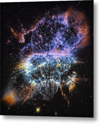 Cosmic Infinity 2 Metal Print by Jennifer Rondinelli Reilly - Fine Art Photography
