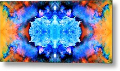Cosmic Kaleidoscope 1 Metal Print by Jennifer Rondinelli Reilly - Fine Art Photography