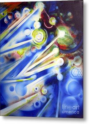 Cosmic Orbs #7 Metal Print