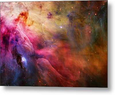 Cosmic Orion Nebula Metal Print by Celestial Images