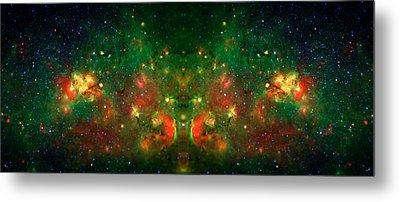 Cosmic Reflection 1 Metal Print by Jennifer Rondinelli Reilly - Fine Art Photography