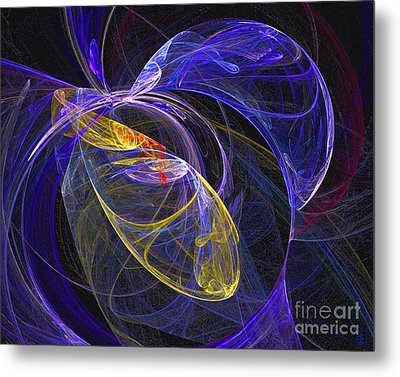 Cosmic Web 1 Metal Print