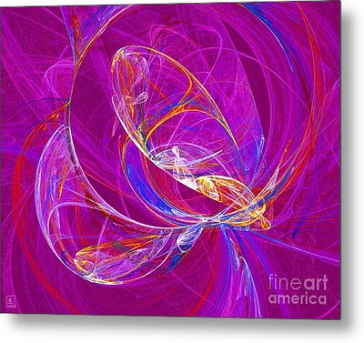 Cosmic Web 3 Metal Print