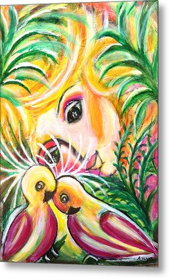 Metal Print featuring the painting Costa Rica by Anya Heller