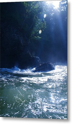 Costa Rica Light Metal Print