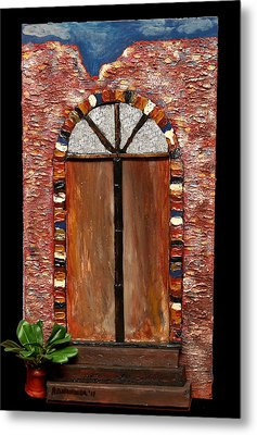 Costa Rican Doorway Metal Print