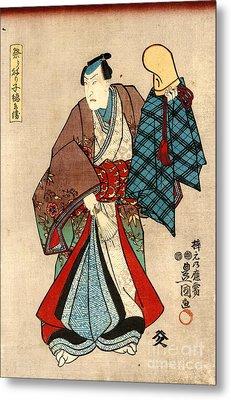 Costumed Actor 1848 Metal Print by Padre Art