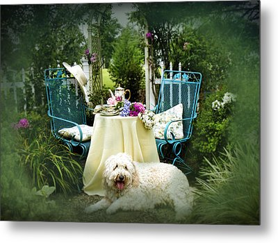 Cottage Bliss Metal Print by Trudy Wilkerson