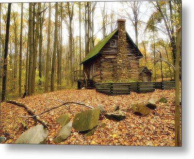 Cottage  Metal Print by Edward Kreis