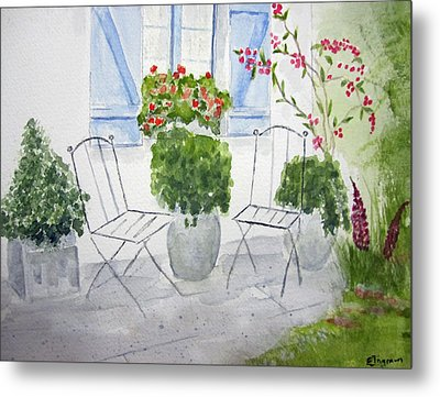 Cottage Garden Metal Print
