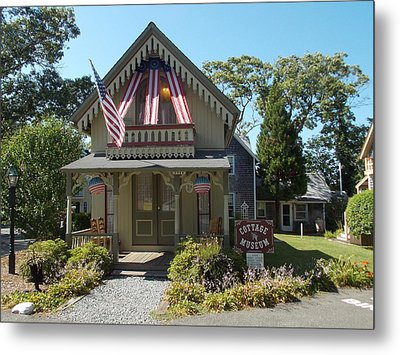 Cottage Musuem Metal Print by Catherine Gagne