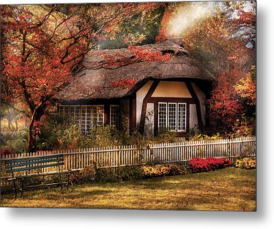 Cottage - Nana's House Metal Print by Mike Savad