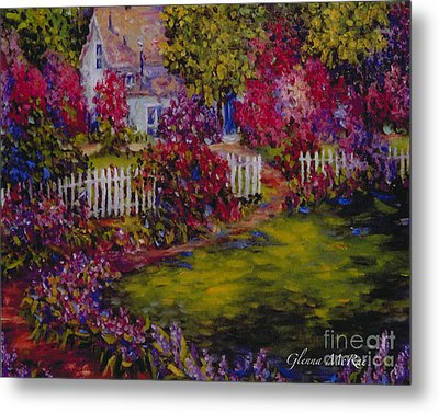 Cottage Of My Heart's Delight Metal Print