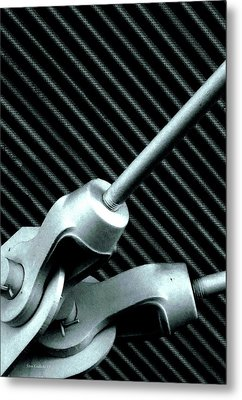 Cotter Pins Metal Print by Steve Godleski