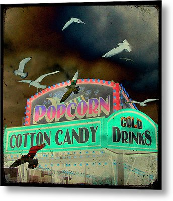 Cotton Candy Metal Print by Gothicrow Images