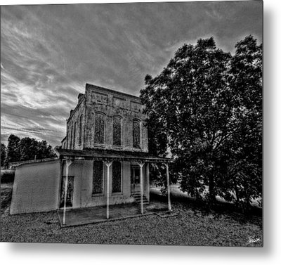 Cotton Office Metal Print