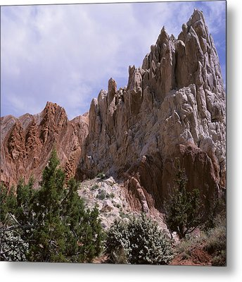Cottonwood Spires 2-sq Metal Print
