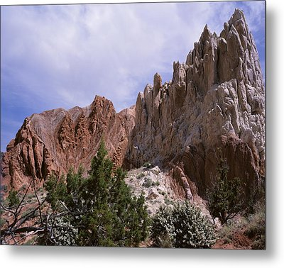 Cottonwood Spires 2 Metal Print