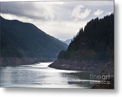 Metal Print featuring the photograph Cougar Reservoir by Belinda Greb