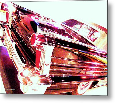 Metal Print featuring the photograph Could You Add Some More Chrome by Don Struke