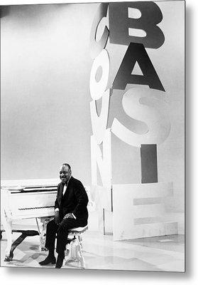 Count Basie (1904-1984) Metal Print by Granger