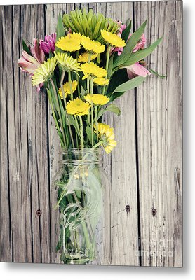 Country Bouquet Metal Print by Kim Fearheiley
