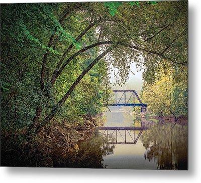 Country Bridge Metal Print by William Schmid