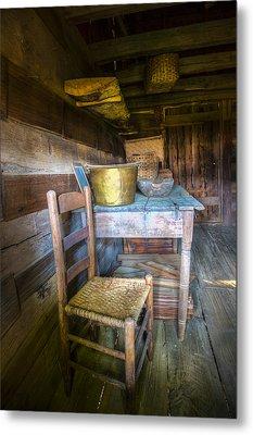 Country Cabin Metal Print
