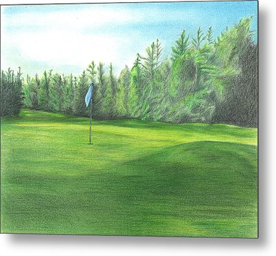 Country Club Metal Print by Troy Levesque