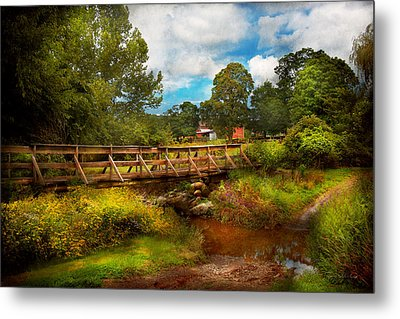 Country - Country Living Metal Print by Mike Savad