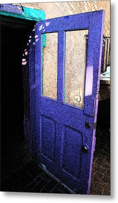 Country Door Metal Print