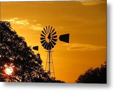 Country Ending Metal Print