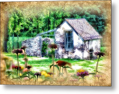 Country Garden Metal Print by Bill Cannon