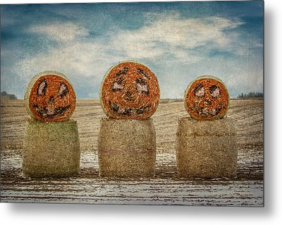 Country Halloween Metal Print by Patti Deters