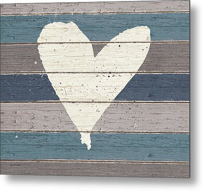 Country Heart Metal Print