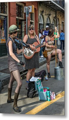 Country In The French Quarter Metal Print by Steve Harrington