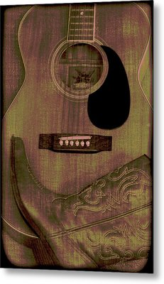 Country Music Metal Print by Dan Sproul