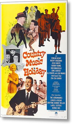 Country Music Holiday, Us Poster Metal Print by Everett