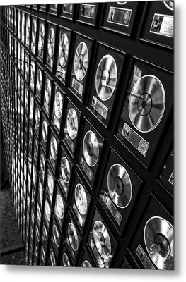Country Music Records Metal Print by Dan Sproul