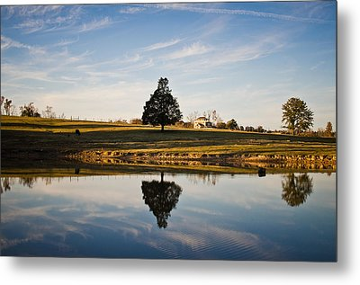 Country Peace Metal Print by Swift Family