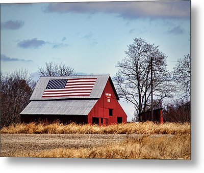 Country Pride Metal Print by Cricket Hackmann