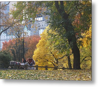 Metal Print featuring the photograph Country Ride In The City by Barbara McDevitt
