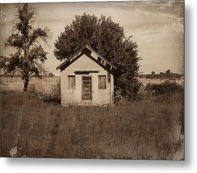 Nebraska School Metal Print by Julie Hamilton