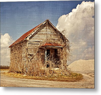 Country Schoolhouse  Metal Print by Marty Koch