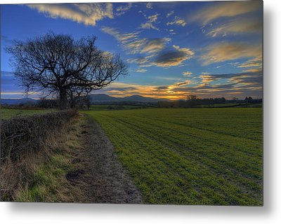Country Sunrise Metal Print by Ian Mitchell