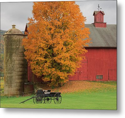 Country Wagon Metal Print by Bill Wakeley